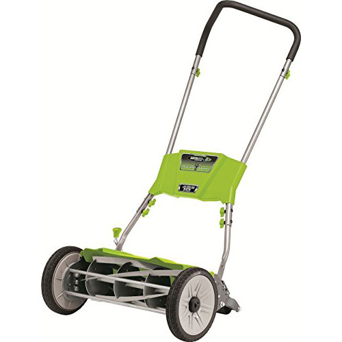 Earthwise 18 inch quiet cut reel mower