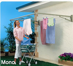 traditional single folding clothesline