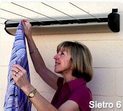sietro 6 plus folding clothesline