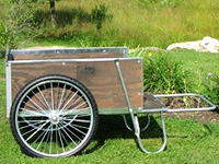 Carts Midwest Vermont wooden garden carts Model 20