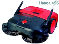 Haaga Turbo 496 Turbo Push Sweepers