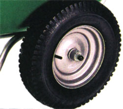 turf tires for smart cart wheelbarrow